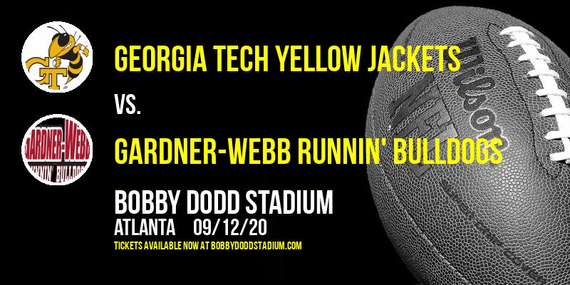 Georgia Tech Yellow Jackets vs. Gardner-Webb Runnin' Bulldogs at Bobby Dodd Stadium