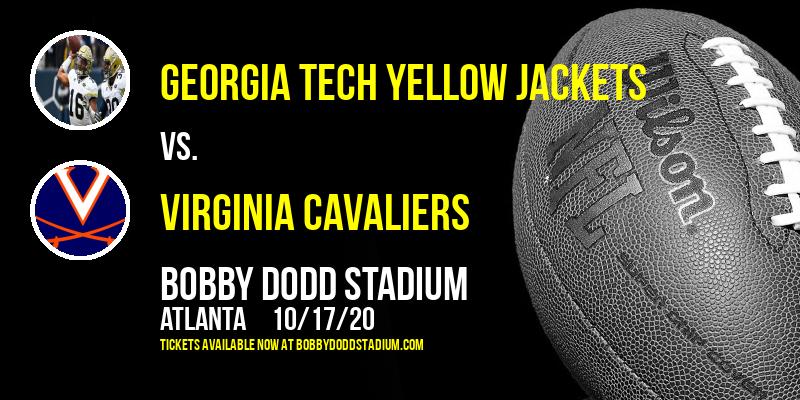 Georgia Tech Yellow Jackets vs. Virginia Cavaliers at Bobby Dodd Stadium