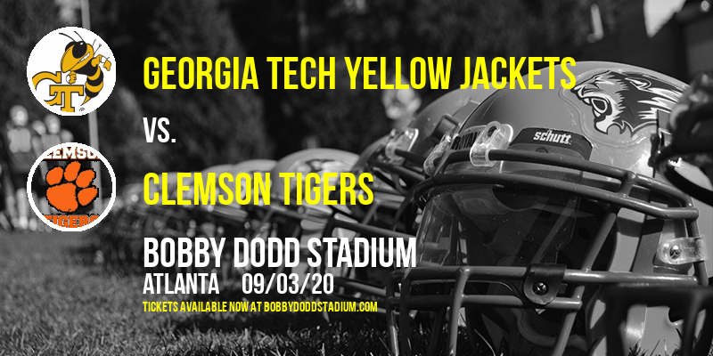Georgia Tech Yellow Jackets vs. Clemson Tigers at Bobby Dodd Stadium