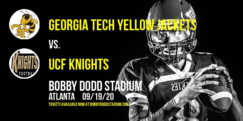 Georgia Tech Yellow Jackets vs. UCF Knights at Bobby Dodd Stadium