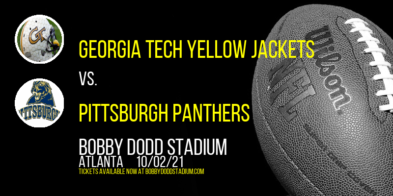 Georgia Tech Yellow Jackets vs. Pittsburgh Panthers at Bobby Dodd Stadium