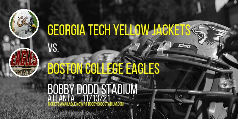 Georgia Tech Yellow Jackets vs. Boston College Eagles at Bobby Dodd Stadium
