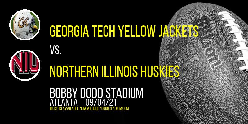 Georgia Tech Yellow Jackets vs. Northern Illinois Huskies at Bobby Dodd Stadium